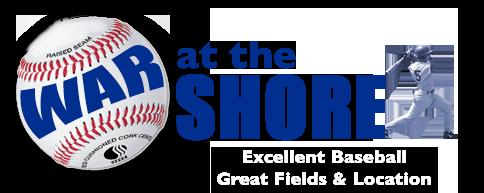 War at the Shore Baseball Logo
